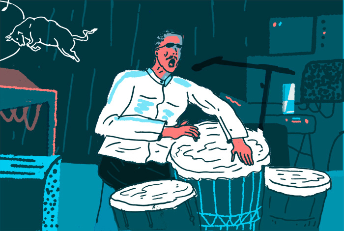 aart-jan-venema-red-bull-illustration-drummer